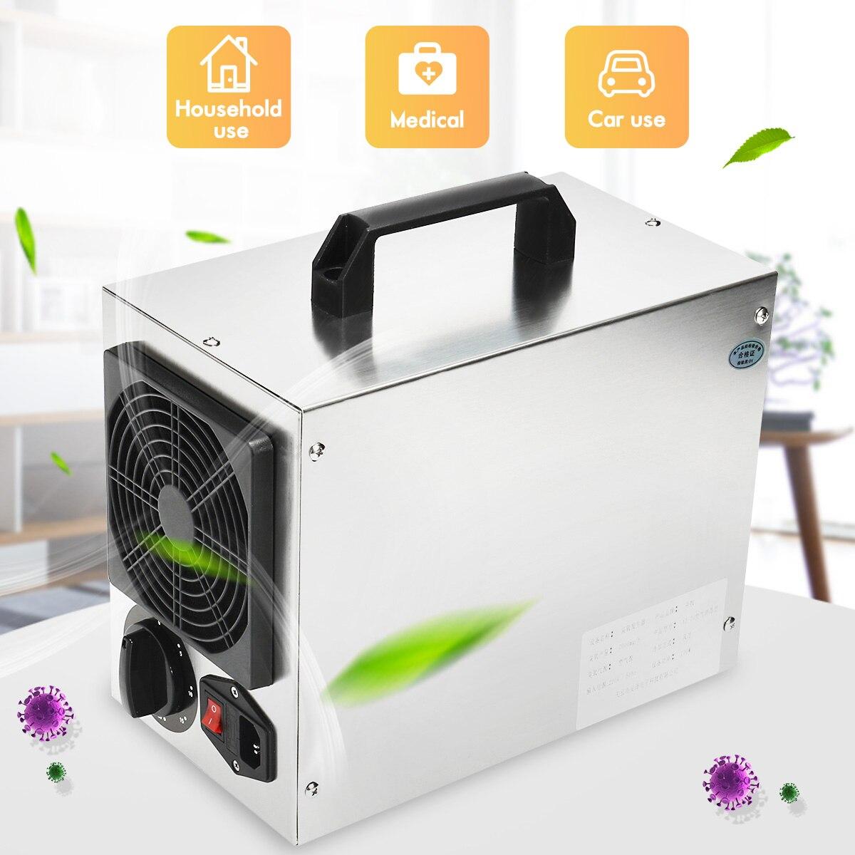 220 v/110 v Per La Casa Commerciale Generatore di Ozono 7 g/h O3 Purificatore D'aria Deodorante Filtro Aria Per L'ospedale di Fabbrica AU Spina