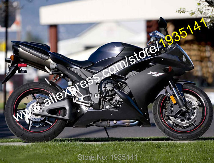 Hot Sales,For Yamaha YZF R1 2007 2008 Accessories YZF-R1 07 08 YZF1000 Black Aftermarket Sportbike Fairing (Injection molding) hot sales for yamaha yzf r1 2007 2008 accessories yzf r1 07 08 yzf1000 black aftermarket sportbike fairing injection molding