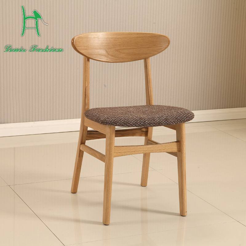 white oak wood butterfly chair dining chair dining furniture cloth chair nordic imported modern minimalist
