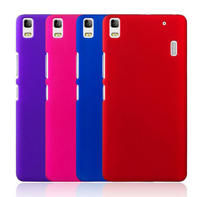 sale retailer 6314c f936b US $1.87 5% OFF|For Lenovo K3 Note Case Hard Frosted Matte Plastic Phone  Back Cover Funda For Lenovo K3 Note K50 t5 Cases For Lenovo A7000 Capas-in  ...
