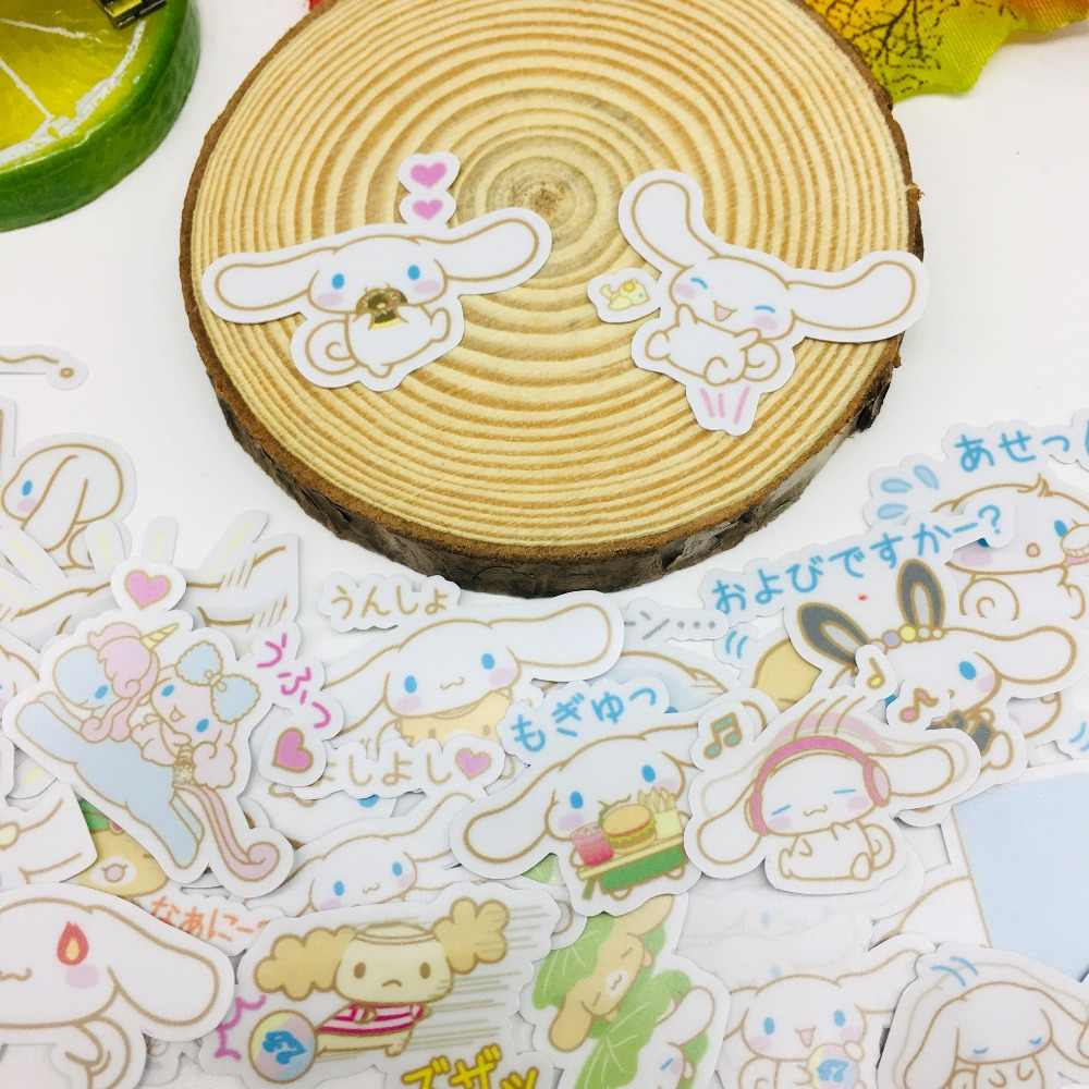 40 Pcs/lot Cute cartoon ears Scrapbooking Stickers  Car Case Waterproof  Laptop Bicycle Notebook Backpack  waterproof Sticker