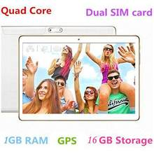 OEM BRAND 10.1 Inch 2560 * 1600 IPS Quad Core Android 8.0 Tablet 8000 mAh Dual SIM card 3G call GPS Bluetooth MTK6582 Tablets(China)