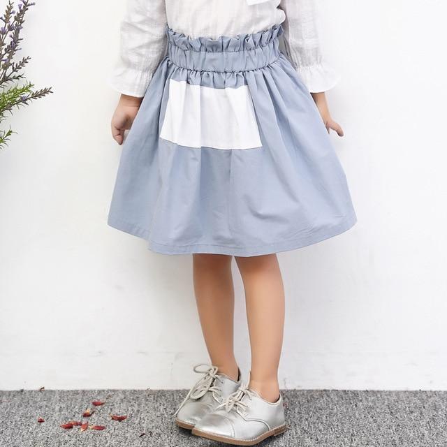 Туту Корея Meisje Свадебные Пром Рокабилли Хлопок Твердые Цвета Короткие Мода 2017 Новый Юбки Балетной Пачки Для Детей