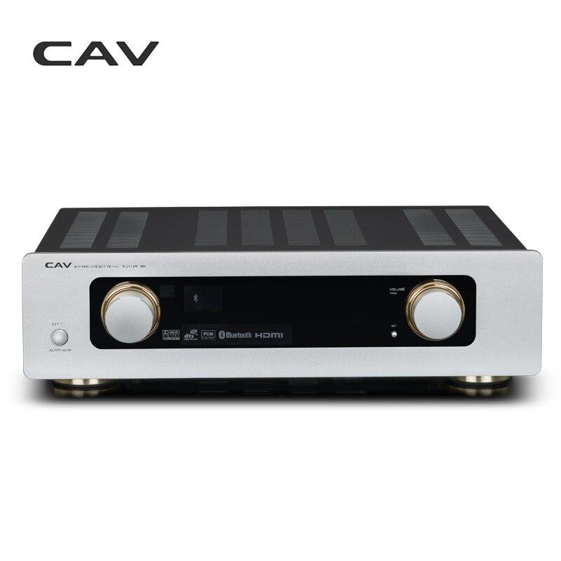 CAV AV950 Audio Amplificateur Home Cinéma 5.1 DTS Amplificateur HDMI Bluetooth Haute Fidélité Puissance Pour Conférenciers Principaux Décodage