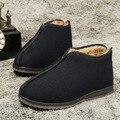 Otoño invierno hombres botas de nieve caliente Casuales con felpa corta australia botas tobillo botas ugs viejo zapatos de Gran tamaño 39-45