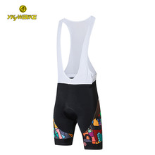 Custom Cycling Bib Shorts Men and Women Bicycle MTB Shorts 3D Padded Outdoor Wear Bike Bicycle Cycling Clothing Race Bottom(China)