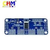 6 Channel 12 Bit PWM Servo 12 Bit Interface PCA9685 For Arduino Raspberry Pi Shield Module
