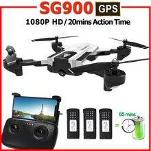 SG900s дроны gps с камерой hd rc вертолет Профессиональный Гоночный fpv Дрон Квадрокоптер sg900 Дрон 1080 P следить за мной мини Дрон