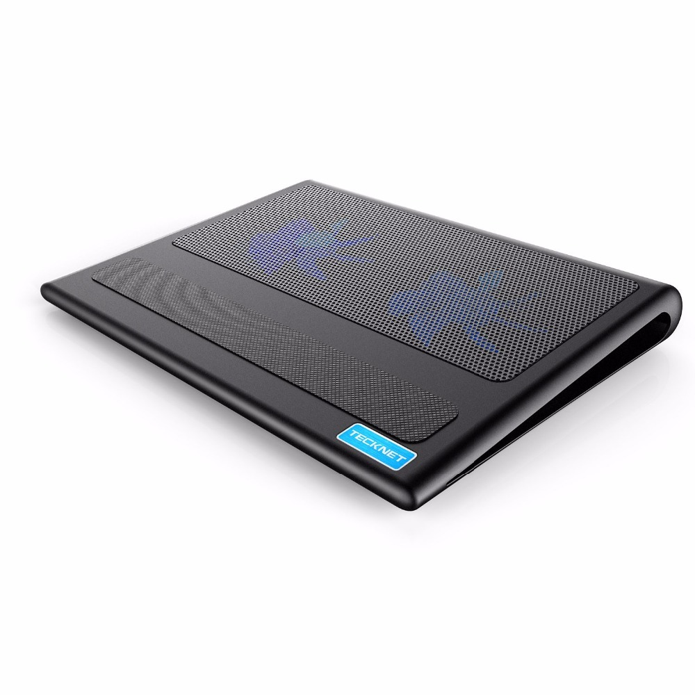 TeckNet Laptop und Notebook Cooling Pad 2 Fans Laptop Kühler passt 9-16 zoll für Laptop PC Computer Kühlung Pad