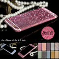 For iPhone 7 Full Body Sticker Case For iPhone 7 6s 5s Matte Decals For iPhone SE 6s plus Luxury Bling Sparkly Sticker Protector