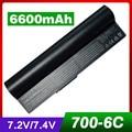 6600mAh laptop battery for ASUS 90-OA001B1000 A22-700 A22-P701 A23-P701 P22-900 Eee PC 900 700 701 4G 8G