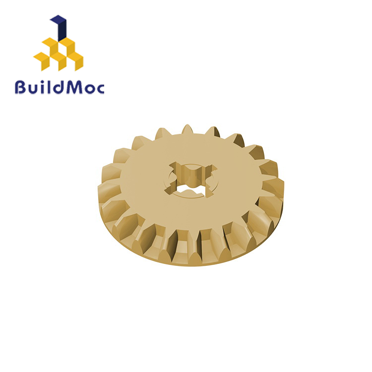 BuildMOC Compatible Assembles Particles 32198 For Building Blocks Parts DIY LOGO Educational Tech Parts Toys