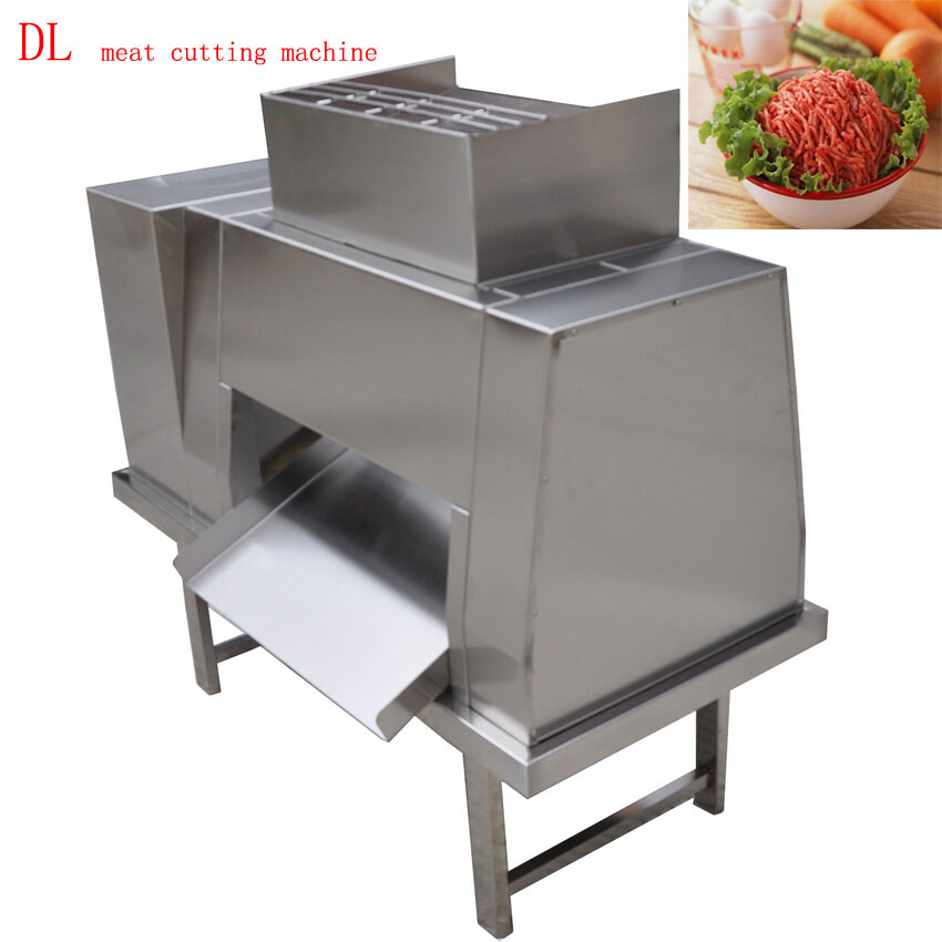 800kg/h Stainless Steel Electric Slicer Commercial Meat Cutting Machine For Restaurant/hotel/Meat Processing Equipment 380v