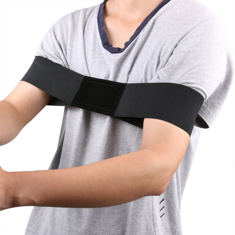 Elastic Nylon Golf Arm Posture Elastic Nylon Motion Correction Golf Belt Beginner Training Durable Golf Training Equipment