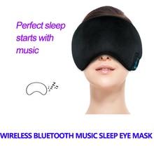 New Wireless Bluetooth Music Sleep Mask Headphones Comfortable Washable Eye Smart Noise Cancelling Earphone Remote