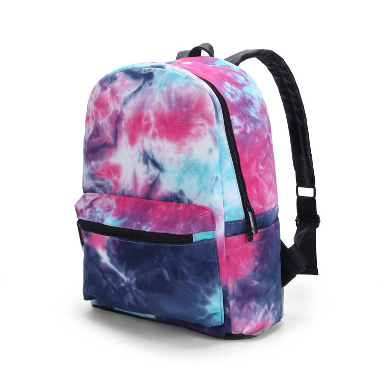 2017 Spring New Fashion Students Canvas Bags For Teenagers Flower Printing Backpacks Campus Girls Trend Book