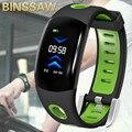 BINSSAW мужские спортивные умные часы монитор сердечного ритма водонепроницаемый смарт-браслет для женщин фитнес-трекер умные часы IOS Android