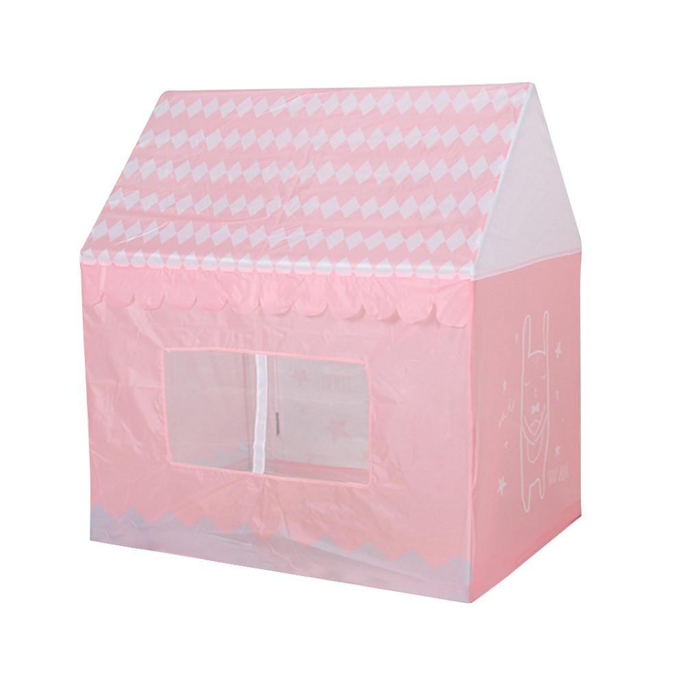 Enfants tente jouet Portable pliable intérieur extérieur maisons de jeux tentes anniversaire balle piscine Simulation maison rose cadeaux pour enfants