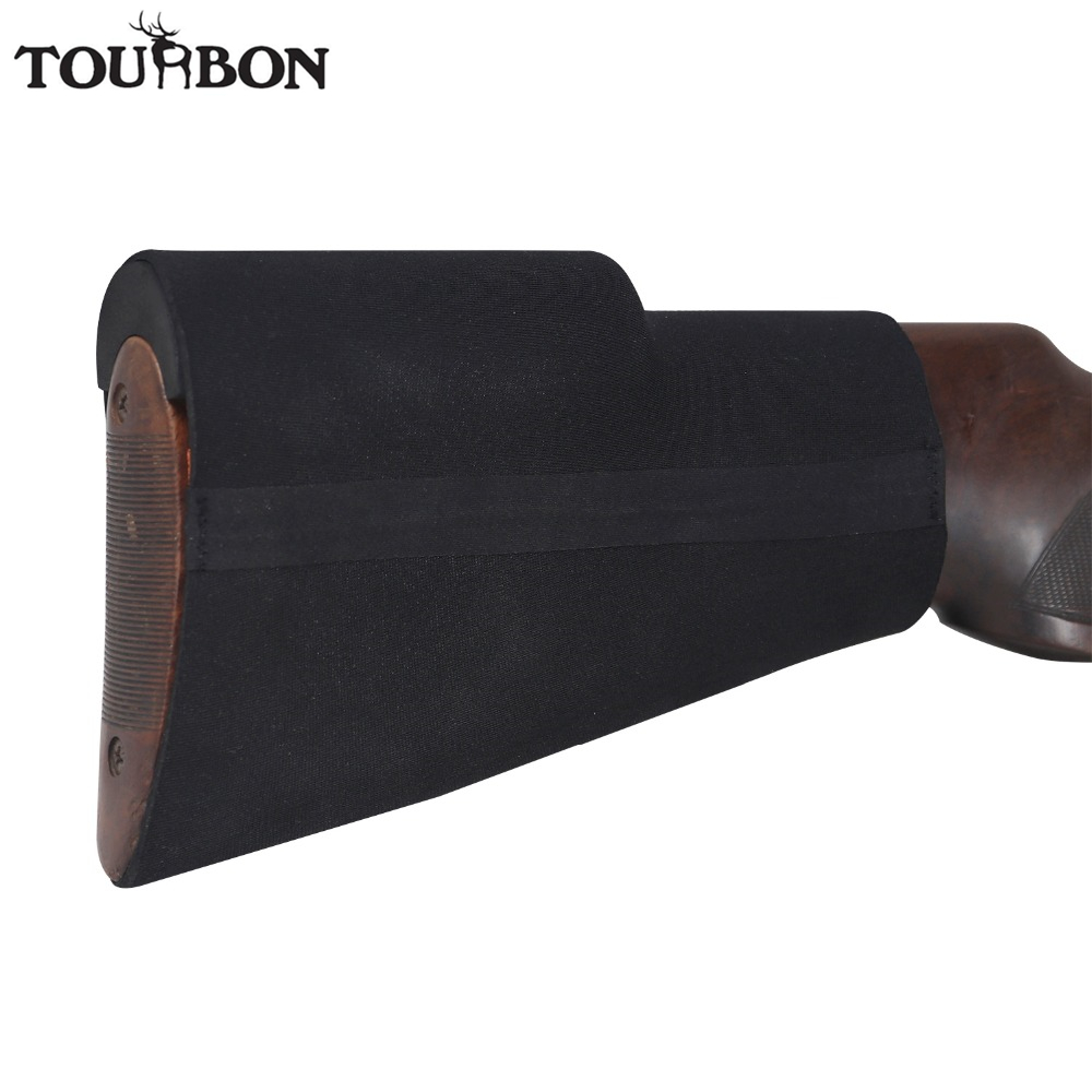 Tourbon Hunting Comb Cheek Rest Raiser Kit Buttstock Gun Non slip Cover Neoprene Waterproof