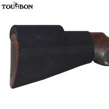 Tourbon taktik av silahı tarak yanak istirahat güçlendirici kiti tabanca Buttstock kaymaz kapak neopren su geçirmez çekim aksesuarları