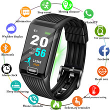 LIGE 2019 New Smart Watch Men Heart rate Blood Pressure Monitor fitness tracker Smart Bracelet Sports pedometer Watch Smart band(China)