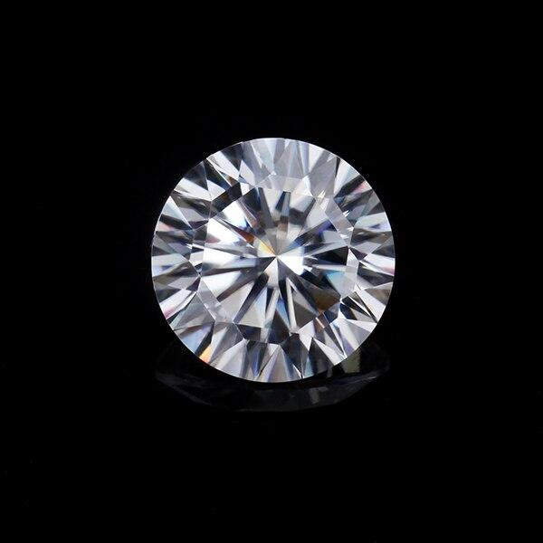 EF couleur blanche claire 5.0mm 0.5ct 16 coeurs et 16 flèches moissanites pierres précieuses en vrac pour la fabrication de bijoux testé positif