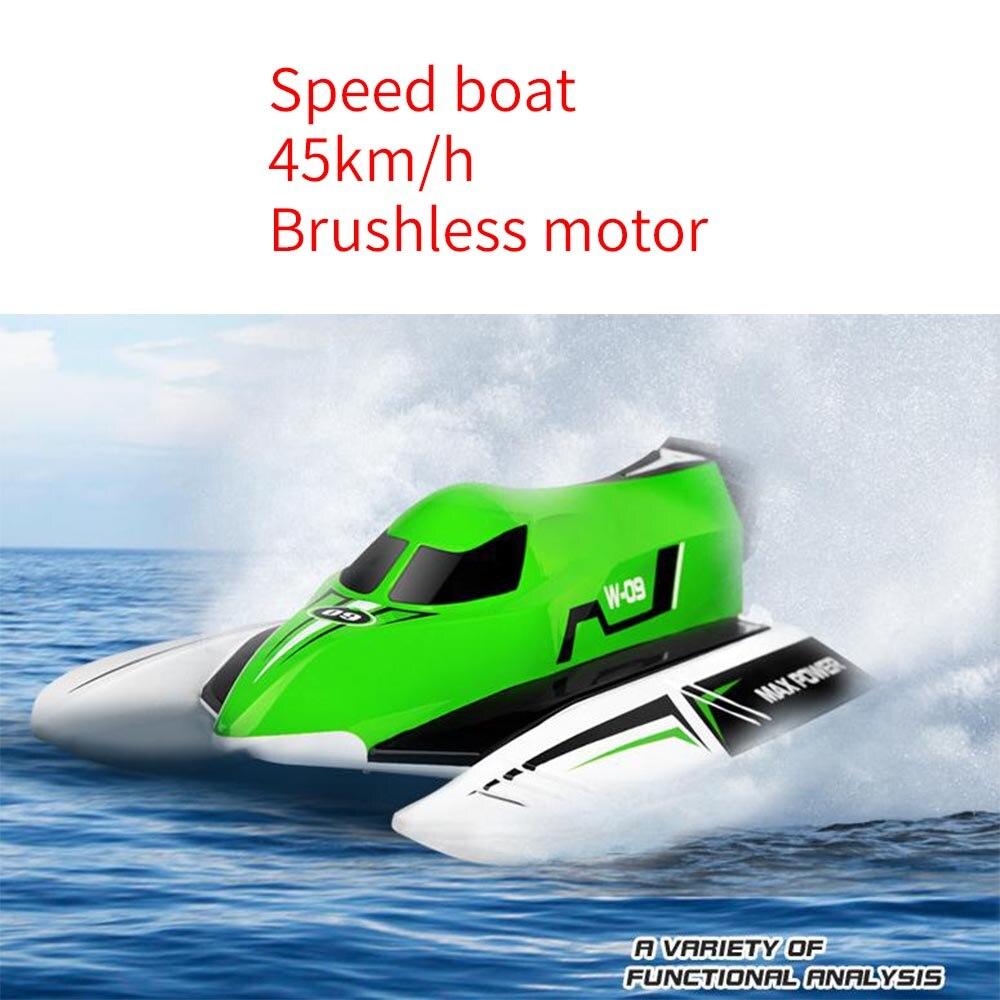 WL915 45 km/h Wltoys 2.4 GHz télécommande sans brosse bateau haute vitesse RC Max puissance Rc jouets pour enfants avec batterie RTG