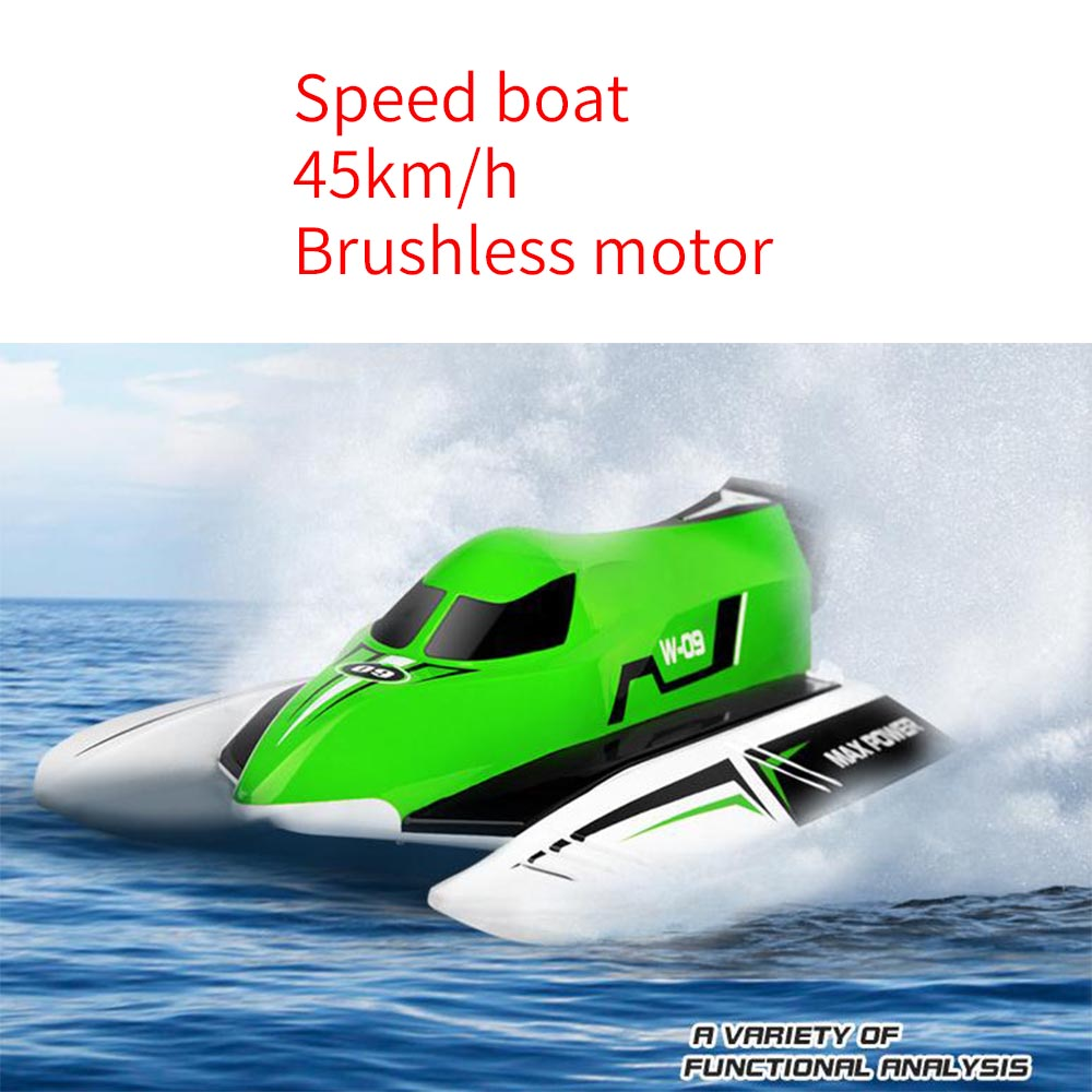 все цены на WL915 45km/h Wltoys 2.4GHz Remote Control Brushless Boat High Speed RC Boat Max Power Rc Toys For Children With Battery RTG