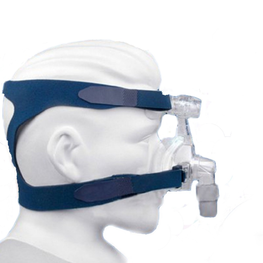 Full Face CPAP Mask with Replaceable Headgear for Comfortable Respirator and Snoring Therapy