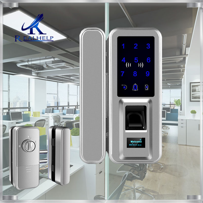 Fingerprint Lock Touch screen Keyless Smart Lock with Keypad and LCD Screen for Home Office Safes