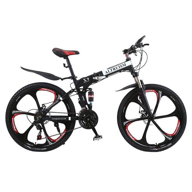 6709a0b2b ALTRUÍSMO X9 21 Velocidade 26 Polegada Mountain Bike Para Meninos Bmx  Bicicleta Meninas de Aço Duplo