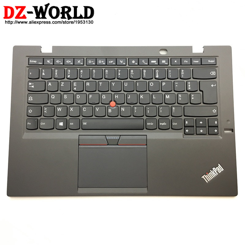 FR New/Orig for Thinkpad X1 Carbon 3rd Gen 3 20BS 20BT French Backlit Keyboard with Palmrest Touchpad 00HN956 00HT311 SM20G18616FR New/Orig for Thinkpad X1 Carbon 3rd Gen 3 20BS 20BT French Backlit Keyboard with Palmrest Touchpad 00HN956 00HT311 SM20G18616