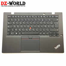 FR New/Orig for Thinkpad X1 Carbon 3rd Gen 3 20BS 20BT French Backlit Keyboard with Palmrest Touchpad 00HN956 00HT311 SM20G18616 - DISCOUNT ITEM  7% OFF Computer & Office