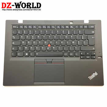 FR New/Orig for Thinkpad X1 Carbon 3rd Gen 3 20BS 20BT French Backlit Keyboard with Palmrest Touchpad 00HN956 00HT311 SM20G18616