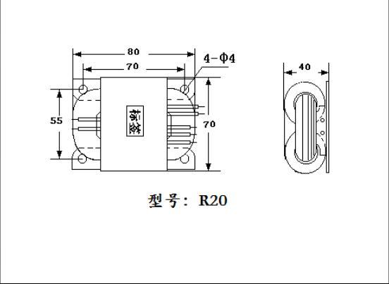 Transformador feito sob encomenda duplo 15 v