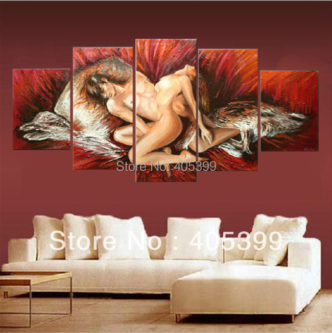 Aliexpress.com : Buy Our Love,Thick Texture Handmade Modern Abstract Oil  Painting On Canvas Wall Art , Wedding Bedroom Decoration JYJHS007 From  Reliable ...