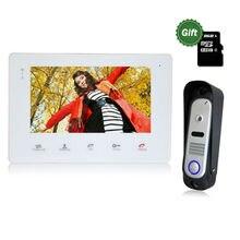 Homefong 7 TFT Wired Video font b Intercom b font Doorbell Rainproof Door Phone Camera Chime