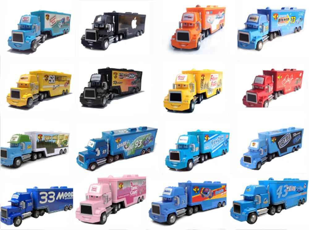 Cars 1 And 2 Toys : New pixar cars toys truck hauler diecast metal for