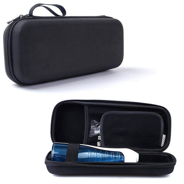 US $10 99 40% OFF|Hard EVA Storage Box Carrying Case for Waterpik Cordless  Freedom Water Flosser WF 03/Philips Sonicare AirFloss / Airfloss Ultra -in