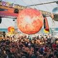 2 м большой надувной Венера/светодиодный освещения Венера шар/надувных планет-надувные игрушки
