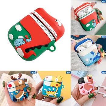 For AirPods Case Cute Cartoon Protective Cover lovely For Airpods Wireless Earphone Case For Air pods Accessories Headphone case