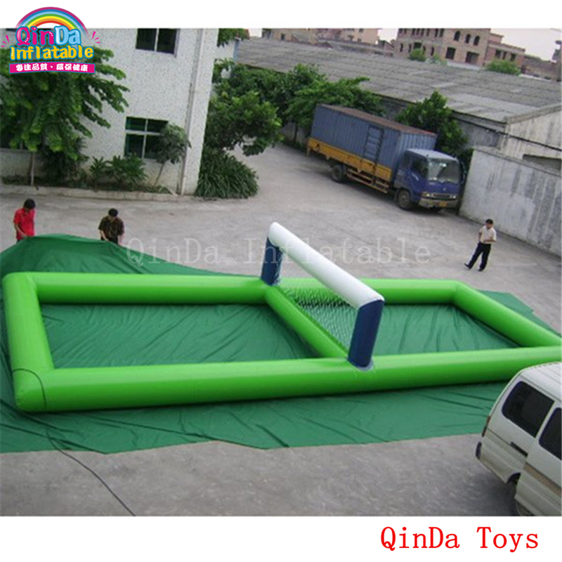 Water equipment 10*5*1.2m volleyball sport court,commercial used inflatable water volleyball field for sale water equipment 10 5 1 2m volleyball sport court commercial used inflatable water volleyball field for sale