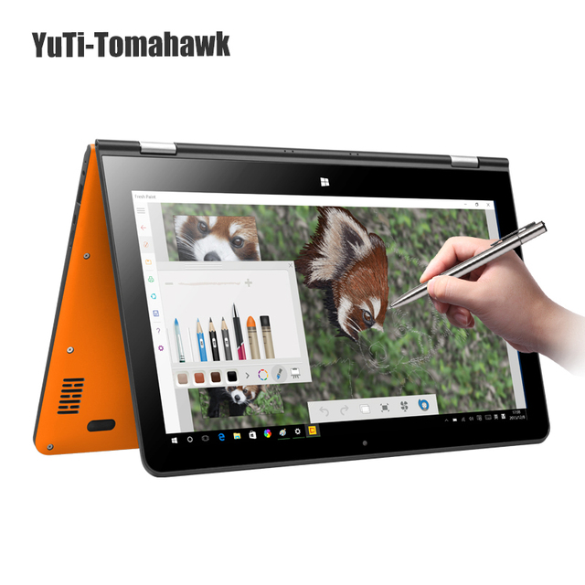 "13.3""VOYO VBook V3 Flagship Core M3-6Y30 Skylake 2IN1 Tablet PC Windows 10 YOGA laptop PC 4GB RAM128GB SSD 1920*1080 use DHL"