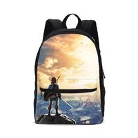 The Legend of Zelda Link Breath Of Wild Men Women Backpack Shoulder Kids Boys Girls Teenage Bagpack Mochila Mujer Bolsa Escolar