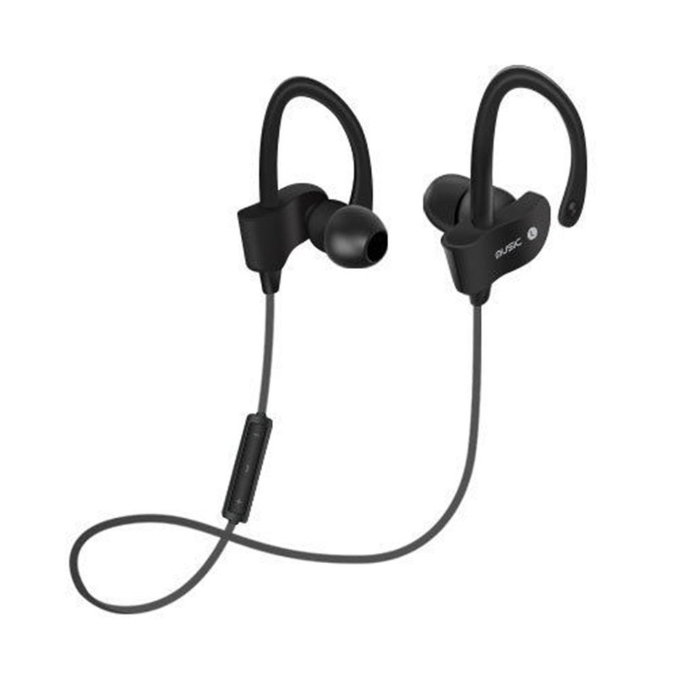 10PCS Bluetooth Headphones Sports Headset Sweat-proof Stereo In-Ear Earphone with Mic transctego bluetooth earphone headphones with microphone wired headset stereo ear buds running sports universal bluetooth 4 1
