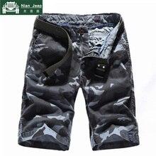High Quality Camo Military Shorts Men Cotton Cargo Mens Shorts 2018 Ca