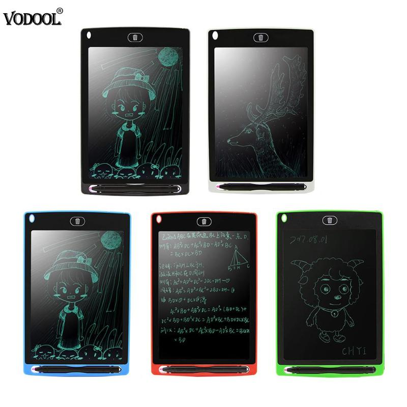 8.5inch Portable LCD Writing Board Drawing Graphics Tablet Handwriting Pads E-paper Electronic Notepad with Magnetic writing