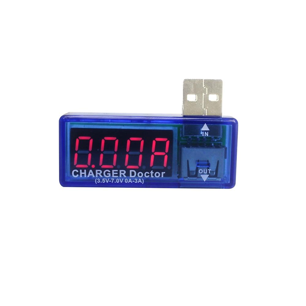 Digital USB Mobile Power Charging Current Voltage Tester Meter Smart Electronics Mini USB Charger Doctor Voltmeter Ammeter