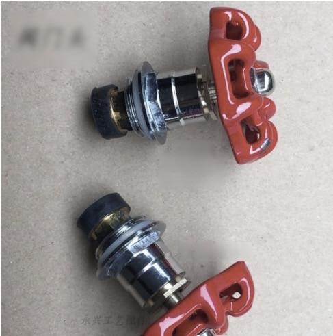50pcs/lot . For DN20-3/4Pipe Hole  Decorative Water Pipe Valve Head Spool Handwheel