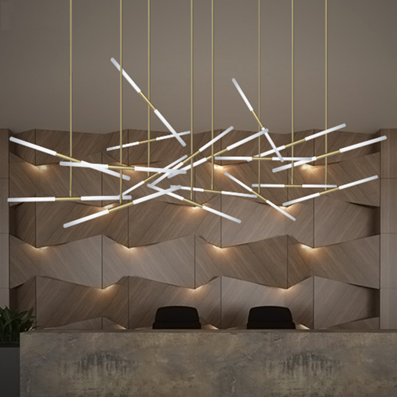 Nordic Modern Minimalist Led Pendant Lights Metal Hanging Lamp Glass For Cafe Bar Home Branch  Lights Decorative Lamp AC96-240V